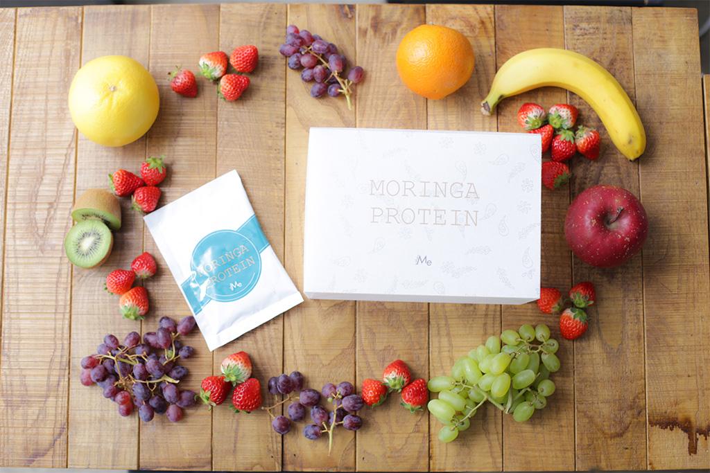 名だたるスーパーフードを贅沢に含んだ画期的なプロテイン「MoringaProtein」