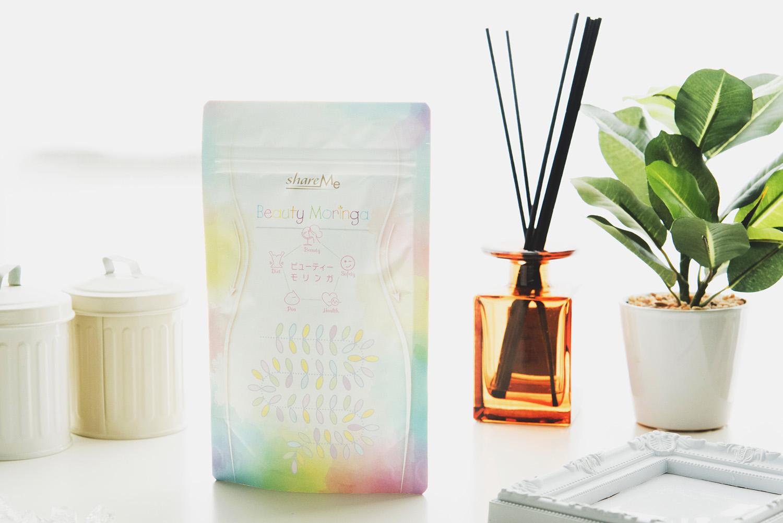 モリンガと2種類の乳酸菌に贅沢成分もプラスで内側からすっきり健康美人習慣「BeautyMoringa」